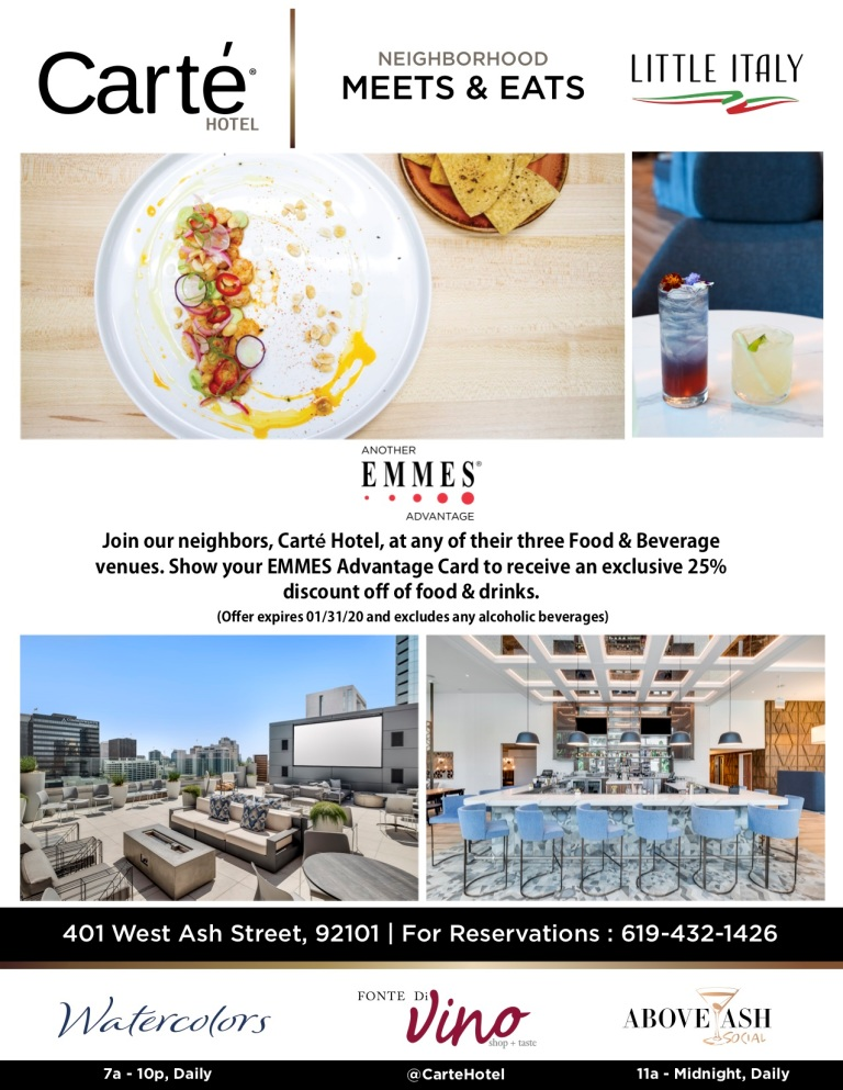 The Carte Hotel EMMES Advantage Flyer