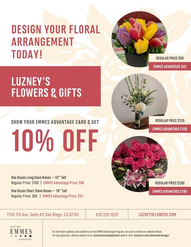 EMMES Advantage Luzney's Flowers & Gifts Flyer