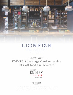 Lionfish EMMES Advantage