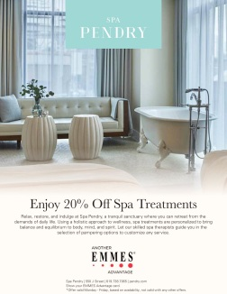 Spa Pendry EMMES Advantage