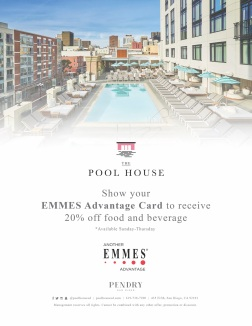 The Pool House EMMES Advantage